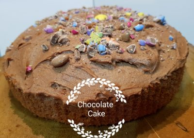 Chocolate Smartie Cake