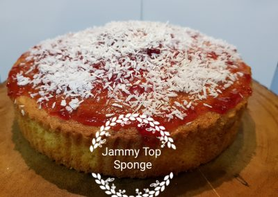 Jammy Top Sponge